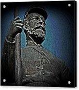Portrait 30 American Civil War Acrylic Print by David Dehner