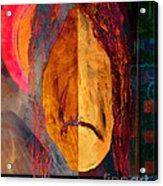 Portrait Of A Man 2 Acrylic Print by Emilio Lovisa