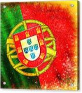 Portugal Flag  Acrylic Print by Setsiri Silapasuwanchai