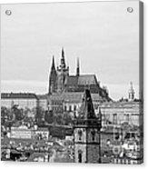 Prague - City Of A Hundred Spires Acrylic Print by Christine Till