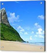 Praia Da Conceição Acrylic Print by Nicolas Vallejos Photography and Design