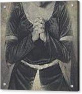Prayer Acrylic Print by Joana Kruse