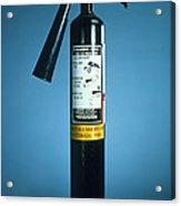 Pre-1997 Uk Co2 Fire Extinguisher Acrylic Print by Andrew Lambert Photography