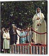 President Carter And Prince Fahd Bin Acrylic Print by Everett