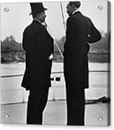 President Roosevelt And Gifford Pinchot Acrylic Print by Photo Researchers