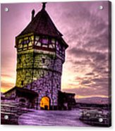 Princes Tower Acrylic Print by Syed Aqueel