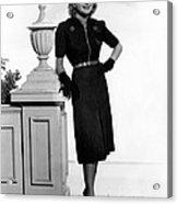 Priscilla Lane, 1938 Acrylic Print by Everett