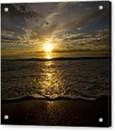 Puerto Rican Sunset II Acrylic Print by Tim Fitzwater