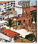 Puerto Vallarta Acrylic Print by Elena Elisseeva