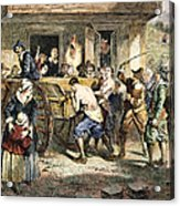 Puritans: Punishment, 1670s Acrylic Print by Granger