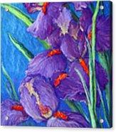 Purple Passion Acrylic Print by Tanja Ware