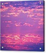 Purple Sky  Acrylic Print by Kevin Bone