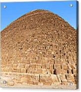 Pyramid Giza. Acrylic Print by Jane Rix