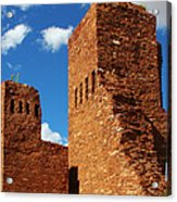 Quarai Salinas Pueblo Missions National Monument Acrylic Print by Christine Till