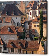 Quercy Acrylic Print by Copyrights by Sigfrid López