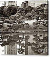 Quiet Moment In Tokyo Acrylic Print by Carol Groenen
