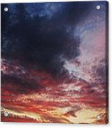 Rainbow Sky Acrylic Print by Todd Sherlock