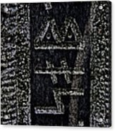 Reading Stones Acrylic Print by Odd Jeppesen