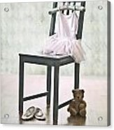 Ready For Ballet Lessons Acrylic Print by Joana Kruse