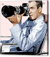 Rear Window, James Stewart, 1954 Acrylic Print by Everett
