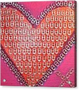 Recycled Love Acrylic Print by James Briones
