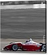 Red Racer Acrylic Print by Darcy Michaelchuk