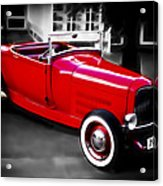 Red Rod Acrylic Print by Phil 'motography' Clark