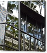 Reflections Of Tampa Acrylic Print by Carol  Bradley