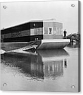 Refrigerated Barge, C1935 Acrylic Print by Granger