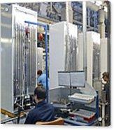 Refrigerator Factory Acrylic Print by Ria Novosti