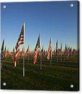 Remember 911 Acrylic Print by Mike  Dawson