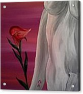 Remembering Clare Acrylic Print by Mark Moore