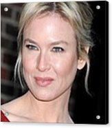 Renee Zellweger At Talk Show Appearance Acrylic Print by Everett