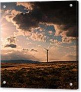 Renewable Energy Acrylic Print by Dan Mihai