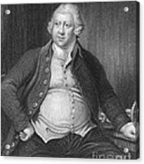 Richard Arkwright, English Industrialist Acrylic Print by Photo Researchers