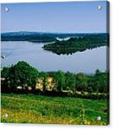 River Cruising, Upper Lough Erne Acrylic Print by The Irish Image Collection
