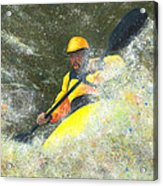 River Runner Acrylic Print by Garry McMichael