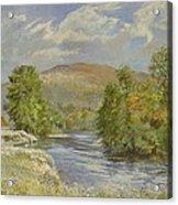 River Spey - Kinrara Acrylic Print by Tim Scott Bolton