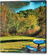 River View Iv Acrylic Print by Steven Ainsworth