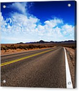 Road Through Rural Area Acrylic Print by Jacobs Stock Photography
