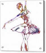 Robot Diva Acrylic Print by Steve K