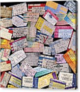 Rock And Roll Memories Acrylic Print by Stephen Anderson