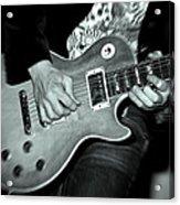 Rock On Acrylic Print by Kamil Swiatek