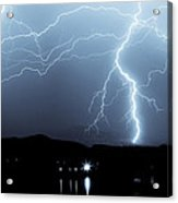 Rocky Mountain Storm  Acrylic Print by James BO  Insogna