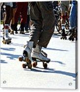 Roller Skates Acrylic Print by Emanuel Tanjala