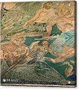 Roman Cosmological Mosaic Acrylic Print by Sheila Terry