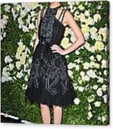 Rose Byrne Wearing A Chanel Dress Acrylic Print by Everett