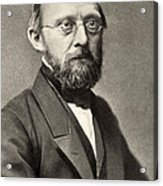 Rudolph Virchow, German Polymath Acrylic Print by Photo Researchers