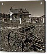 Rural Ontario Sepia Acrylic Print by Steve Harrington