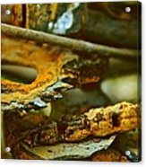 Rust Abstraction Acrylic Print by Odd Jeppesen